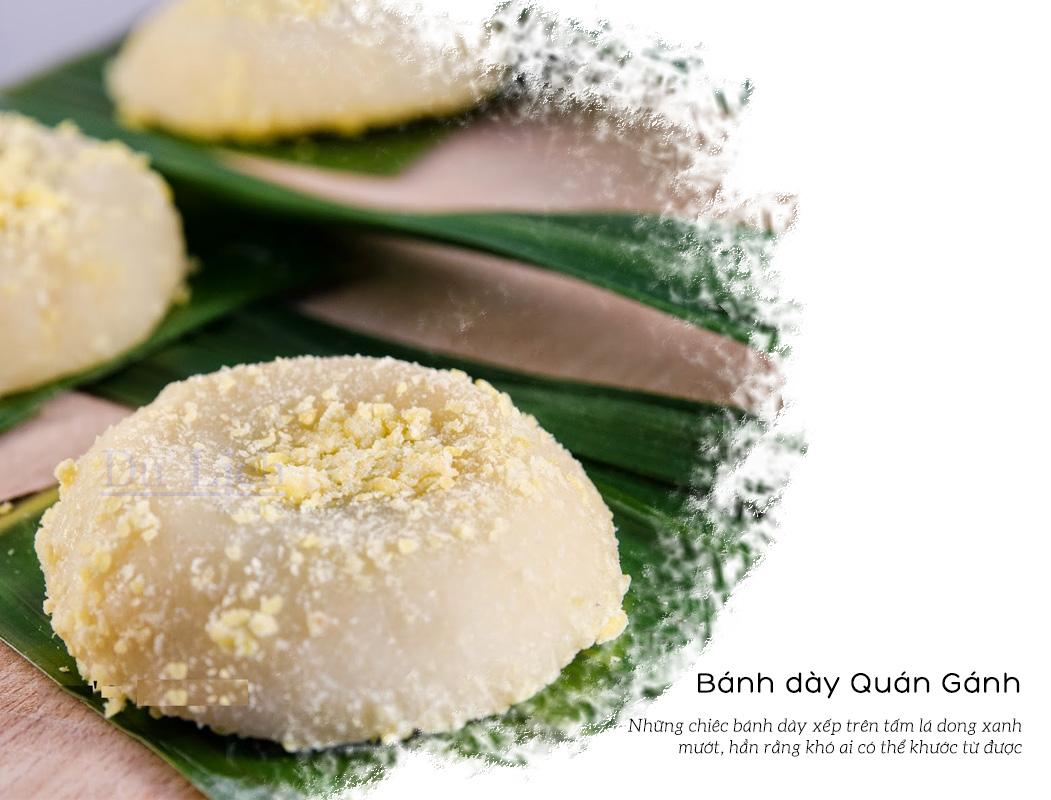 Bánh dày Quán Gánh – đặc sản làm quà ở Hà Nội